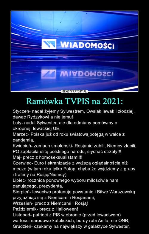 Ramówka TVPIS na 2021: