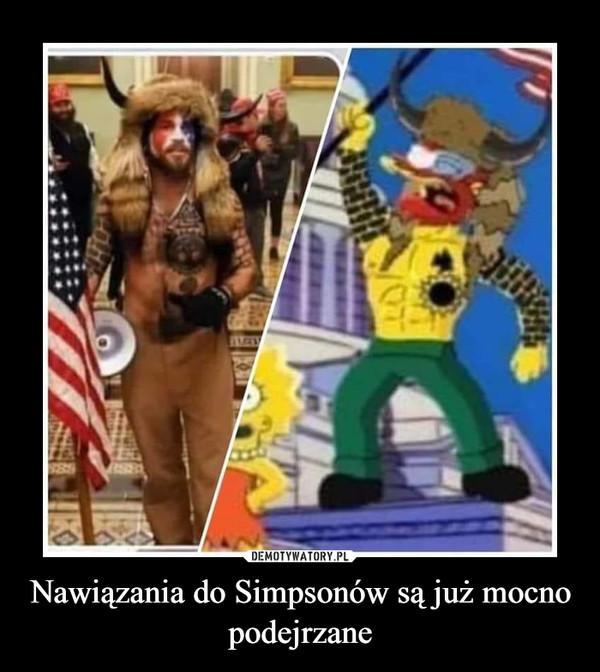 Nawiązania do Simpsonów są już mocno podejrzane –