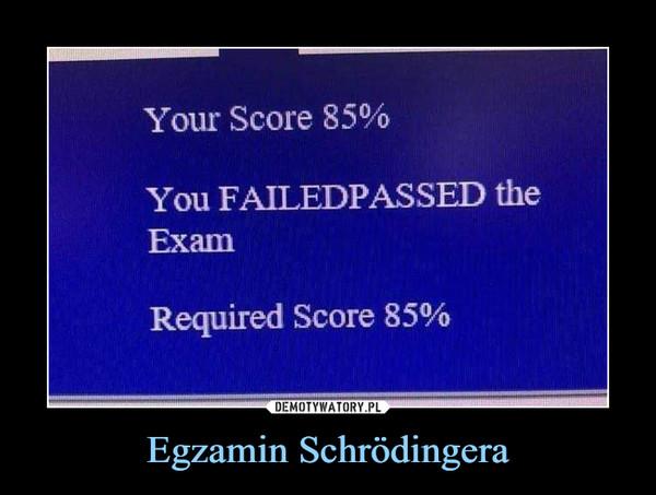Egzamin Schrödingera –