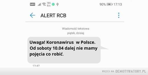 Już wkrótce kolejny komunikat RCB
