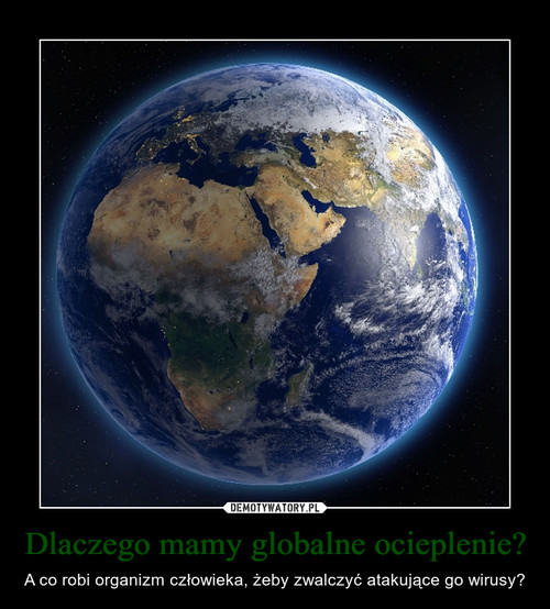 Dlaczego mamy globalne ocieplenie?