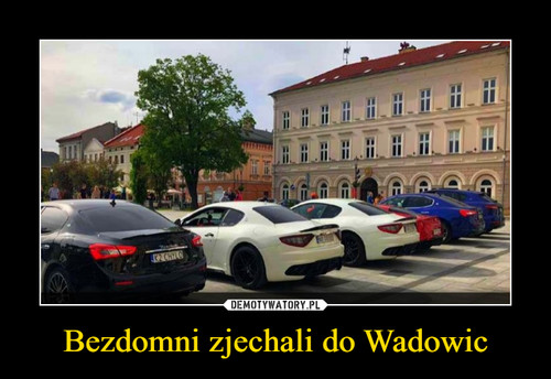 Bezdomni zjechali do Wadowic
