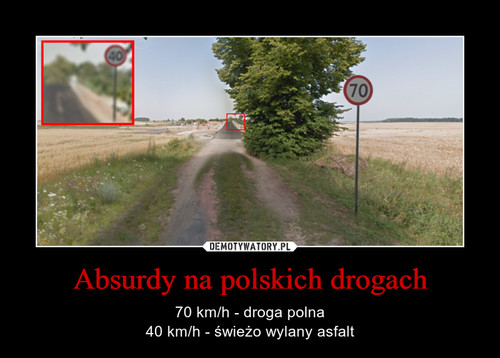 Absurdy na polskich drogach