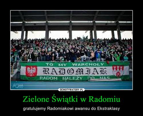 Zielone Świątki w Radomiu